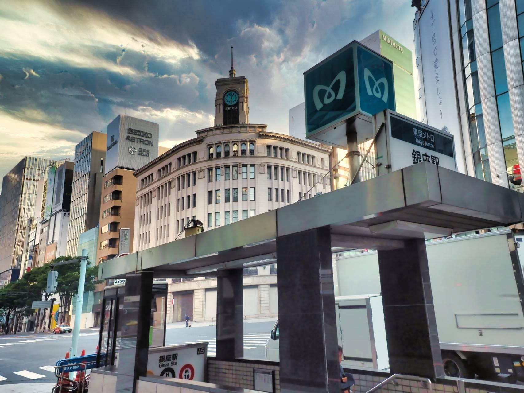 銀座駅周辺のエリアガイド&おすすめのマンスリーマンション