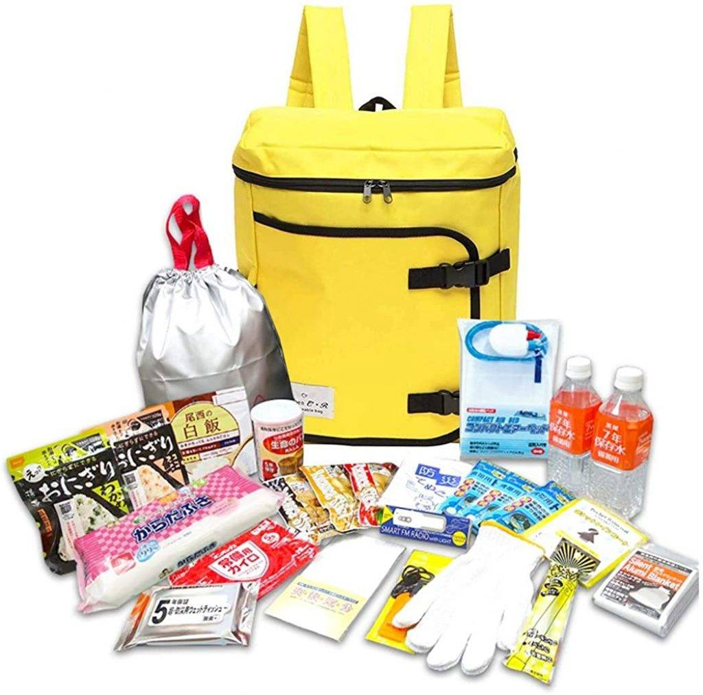 Have an evacuation bag at the ready