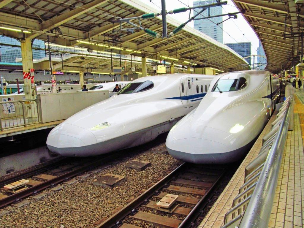 go to travel tokyo shinkansen