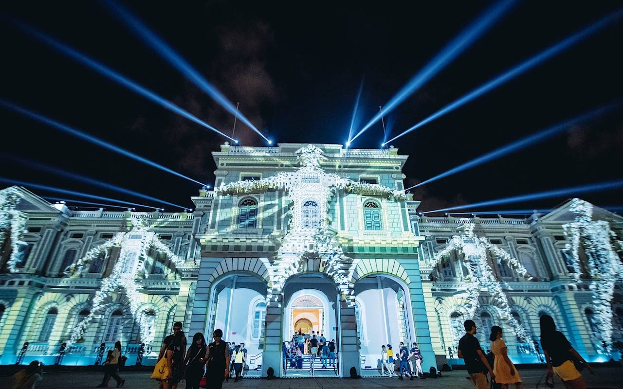 Singapore Night Festival 2019 – a spectacle of lights.